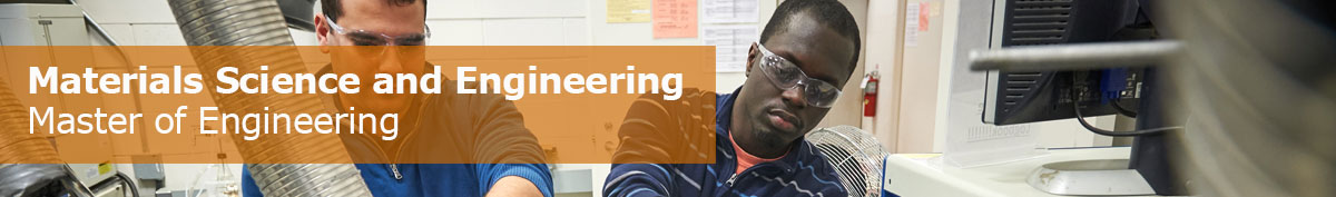 Master of Engineering (MENG): Materials Science