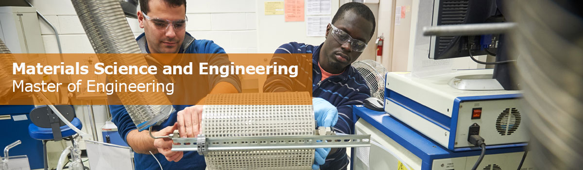Master of Engineering (MENG): Materials Science