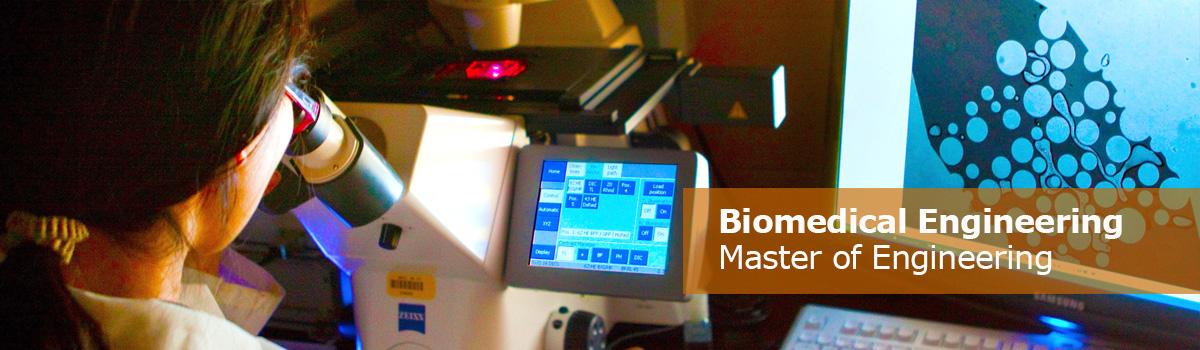 Master of Engineering, Biomedical Engineering